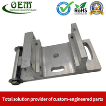 Precision Aluminum CNC Milling Custom Parts Motion Control Bracket for Military Industry