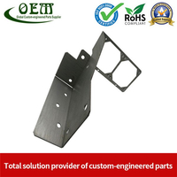 Custom Stainless Steel Metal Stamping Motor Shell Bracket for Robotic Applications