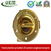 Brass CNC Milling Parts - End Cap Holders for Optical Reflectors