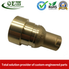 Beryllium Copper Brass Machining Swivel Housing Parts Used for Electronic Pump