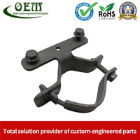 Special Fabricated Galvanized Steel Metal Stamping Hardware Clamps
