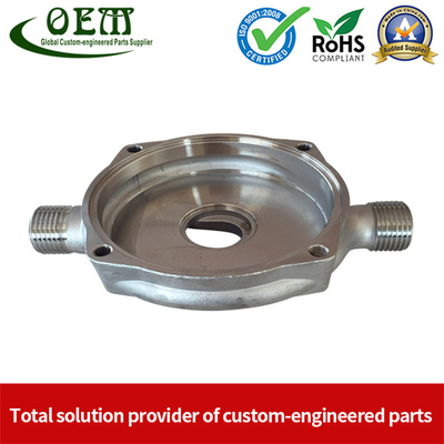 Stainless Steel Precision CNC Milling Machined Components Used for Gas Pipe Coupler