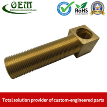 Brass Plug Brass Sanitary Parts CNC Turned Machining Parts