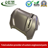 Sheet Metal Deep Drawn Stamping Housing Parts for Food Service Equipment