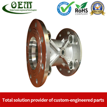 OEM Customized Stainless Steel CNC Milling Parts - Meter Body Used for Flow Meter