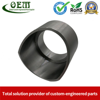Carbon Steel CNC Machining Parts Tube End Housing - for Agricultural Tractor