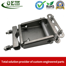 Precision Sheet Metal Stamping Fabrication of Stainless Steel Frame for Mechanical Equipment