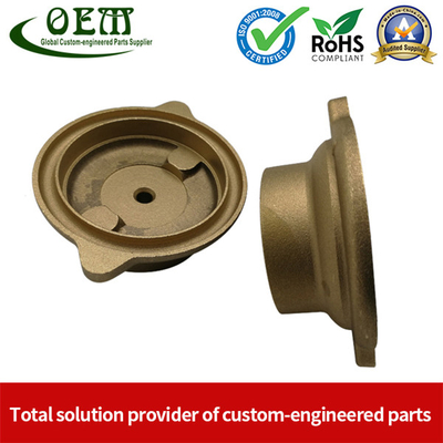 ISO 9001 Certified CNC Copper Machining Parts - Brass Cover Fitting Applied for Oil And Gas Industry
